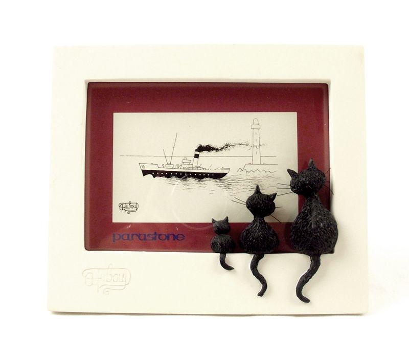 Bilderrahmen Motiv Dubout-Katzen | A&C- Craft Projects | Pinterest | Cat