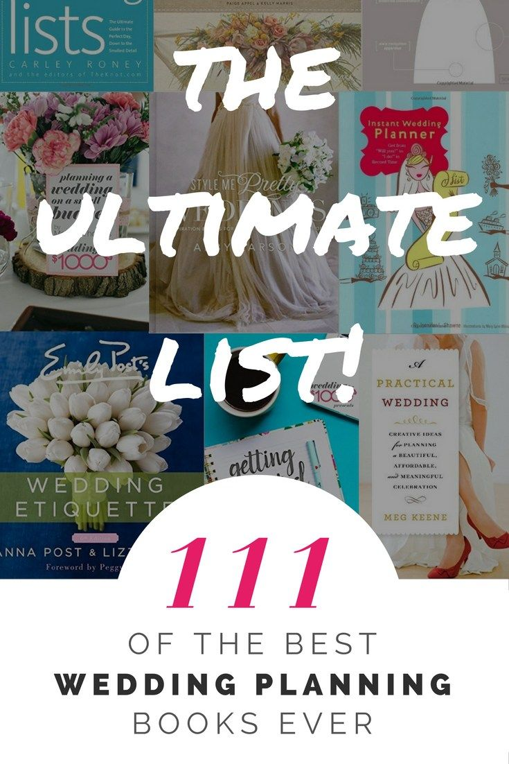 111 Of The Best Wedding Planning Books The Ultimate List Frugal Wedding Wedding Planning Book Wedding Planning On A Budget