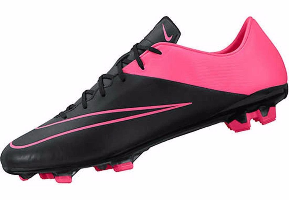 New Nike Mercurial Veloce Ii Fg Soccer Cleats Mens 12 Black Hyper Pink Nike Leather Soccer Cleats Soccer Boots Soccer Shoes