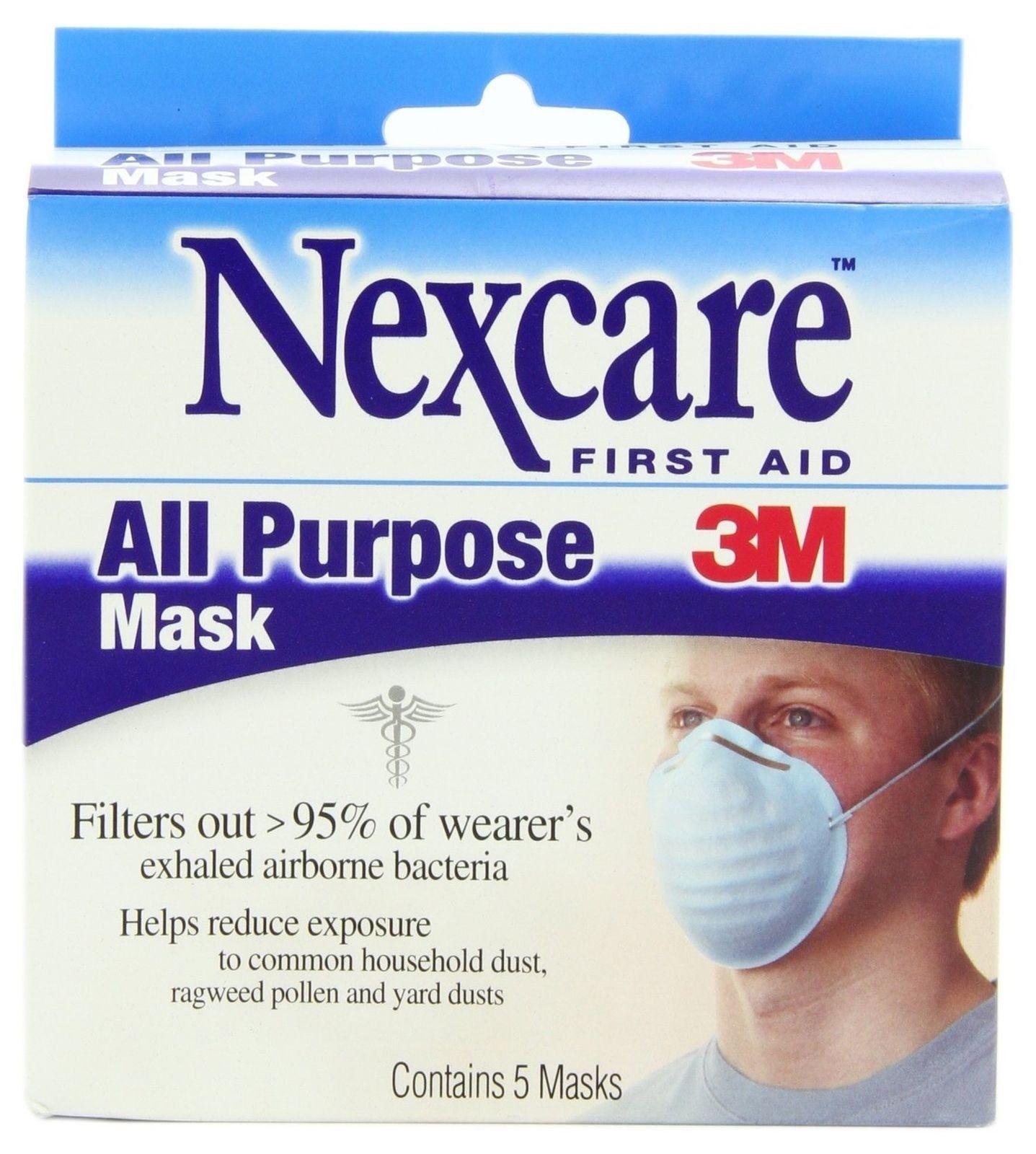 3m nexcare medical mask