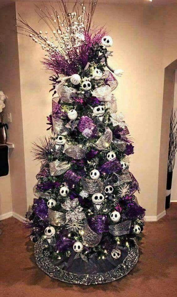 Pin By Laurie Spurgeon On Jack Skelington Nightmare Before Christmas Decorations Nightmare Before Christmas Tree Nightmare Before Christmas