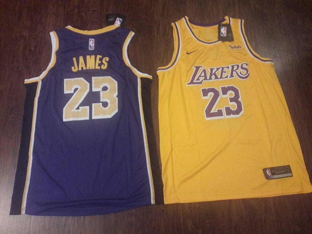 0c54f96c44c Brand New Lebron James 2018-2019 Los Angeles Lakers Jersey Size Large (50)  #fashion #clothing #shoes #accessories #mensclothing #activewear (ebay link)