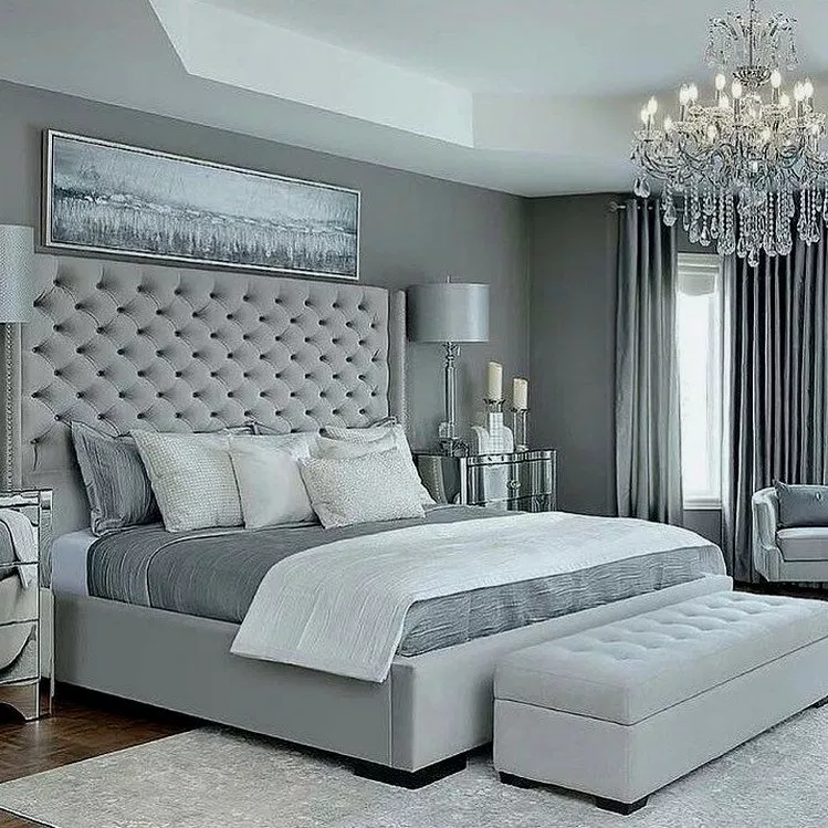 30 Incredible Master Bedroom Ideas Masterbedroom Bedroomdesign Bedroomideas Gorgeous House Grey Bedroom Design Simple Bedroom Design Simple Bedroom