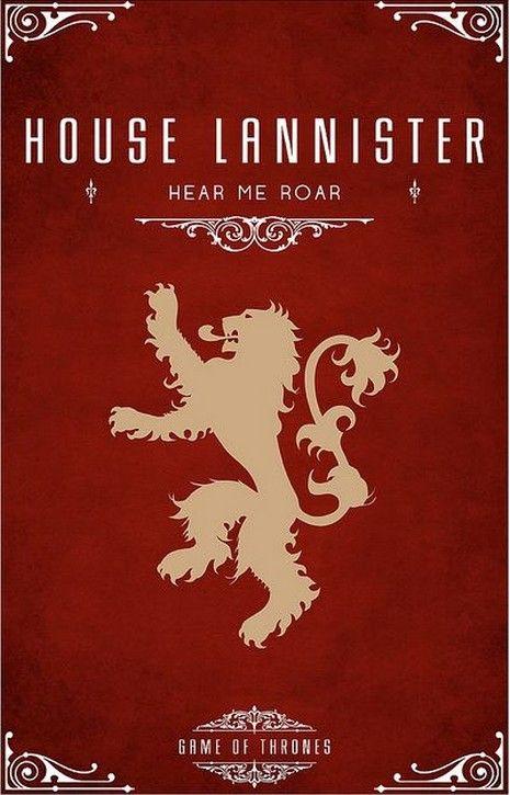 Lannister Family Crest