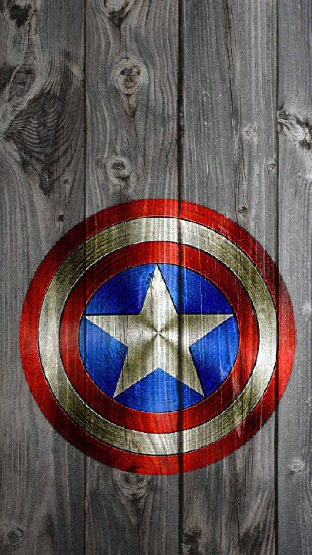 Captain America Wallpaper – [1080×1920] 4K