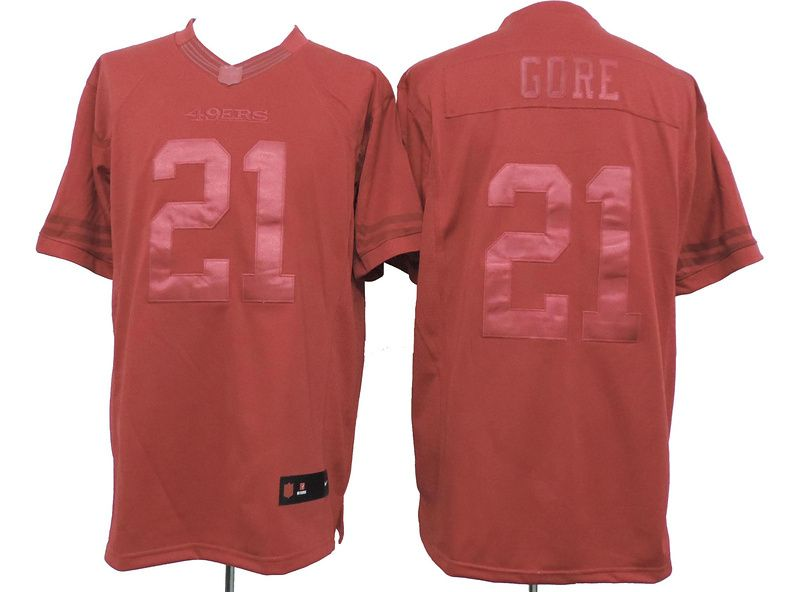 cf6fb3174 ... coupon nike san francisco 49ers 21 frank gore drenched limited red  jersey edb84 6e6e9