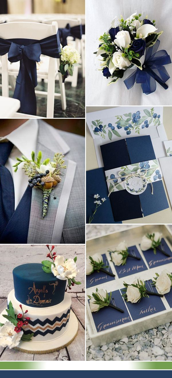 the best shades of blue wedding color ideas for 2017 in 2018 navy