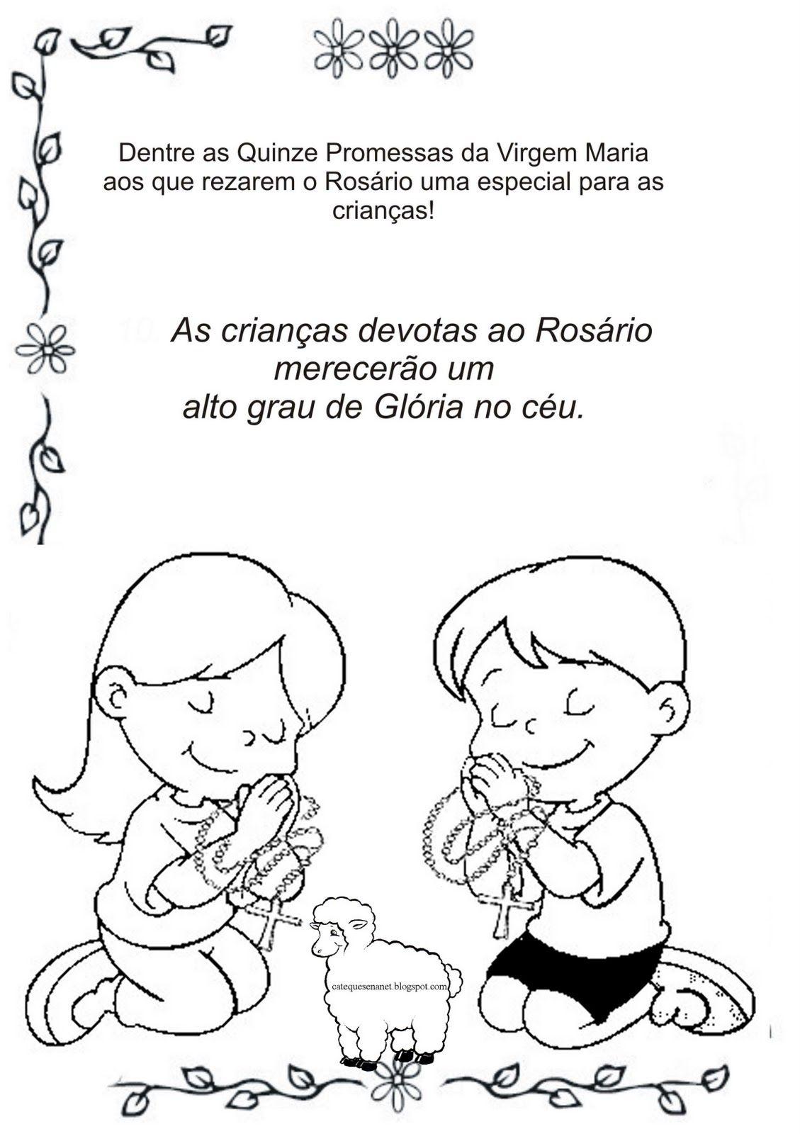 Terco Com Criancas Livrinho Parte 1 Com Imagens Como Rezar