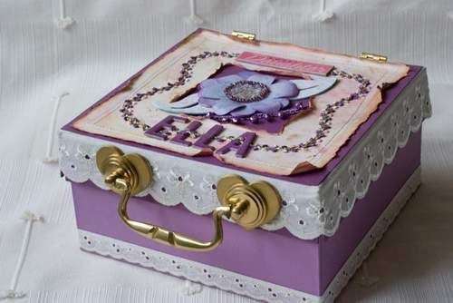 How To Decorate Jewelry Box   Google Search