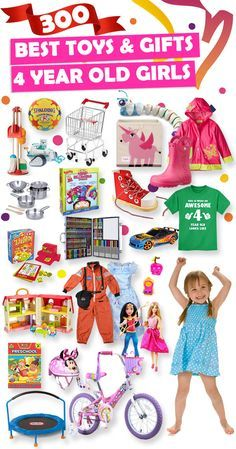 See Over 300 Great Gifts Ideas For 4 Year Old Girls
