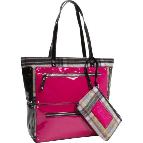 Nine West Handbags Day Glo Tall Tote Grey Multi Electric Holiday Adds