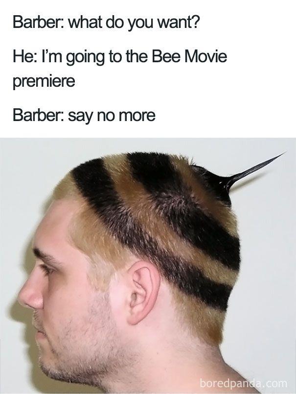 30 Terrible Haircuts That Were So Bad They Became Say No More Memes Haircut Funny Bad Haircut Funny Haircut Memes