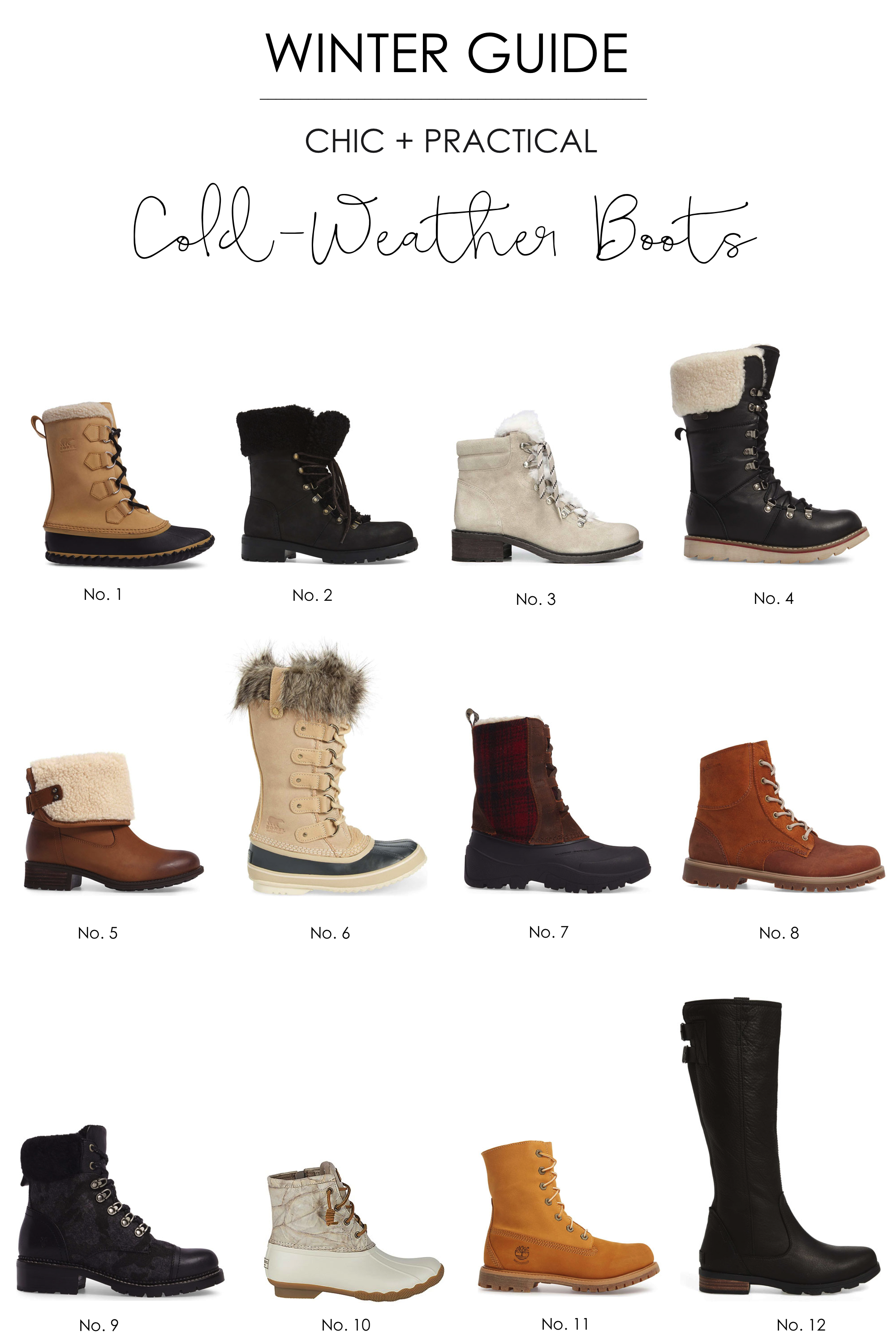 c3f0d7de85439 You don't have to sacrifice style for warmth when it comes to winter boots.  Here's a guide to the best boots that will keep your feet toasty and dry!