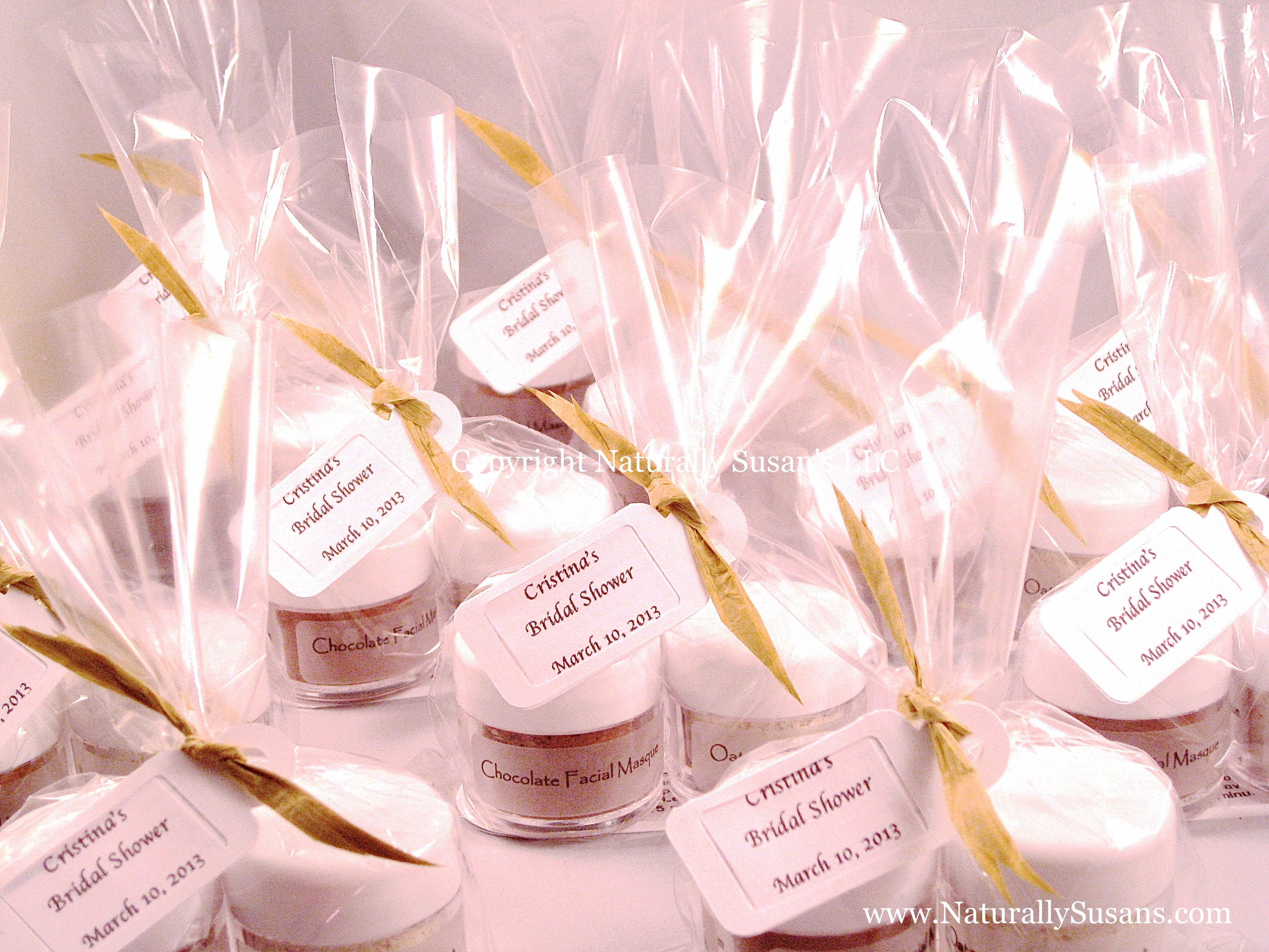 FACIAL MASK FAVORS - Chocolate Oatmeal Azuki Matcha Seaweed Minis ...