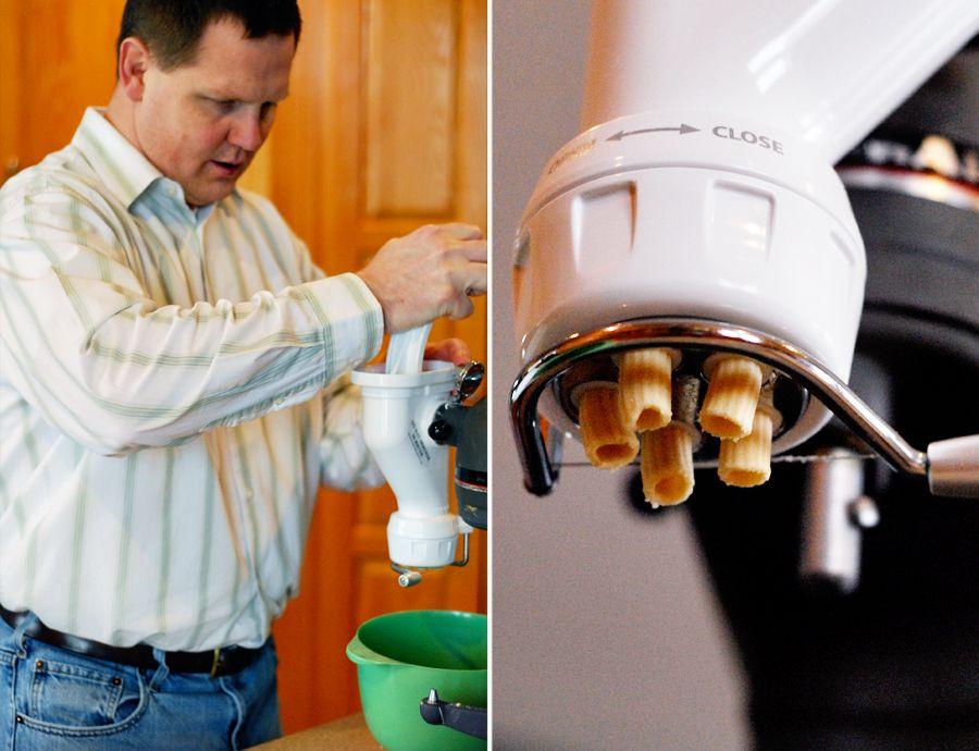 kitchenaid pasta press attachment video