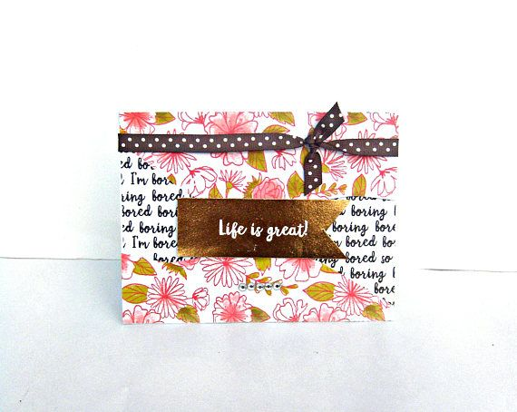 Encouragement Card Friendship Card Just Because Card Best