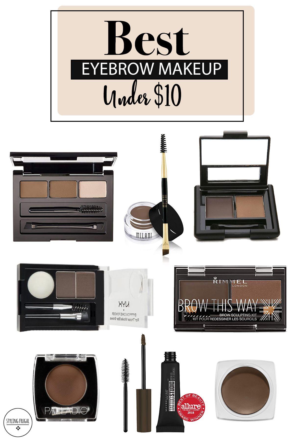 The Best Eyebrow Makeup Products Best eyebrow makeup