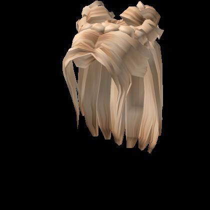 1 Platinum Space Bun Braid Roblox In 2020 Braided Bun Ball Hairstyles Girl Hair Colors