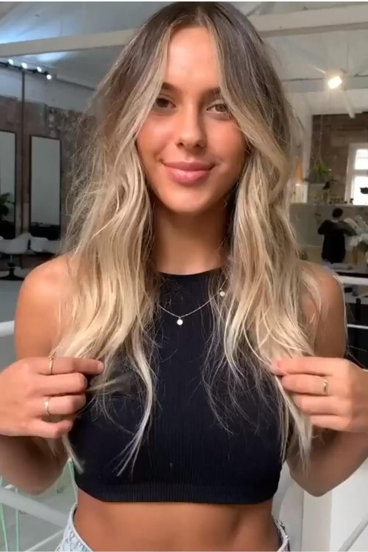 Amazing Bronde Hairstyle