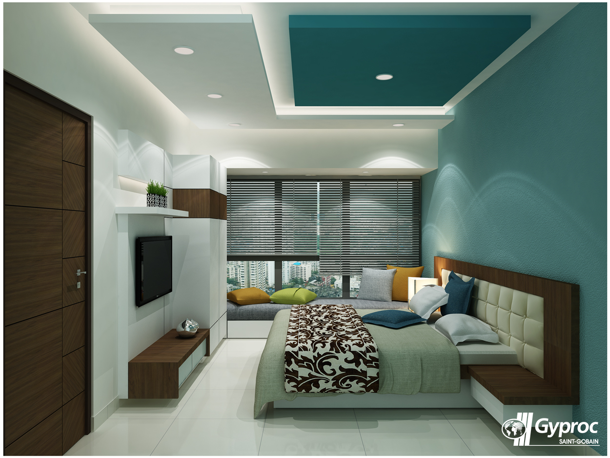 false ceiling designs home selling design False Ceiling Ideas Tips. Beautiful and elegant bedroom designs for your  house! To know more: www.gyproc.in-