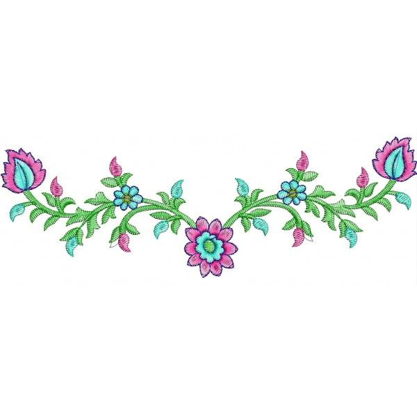 Small Designs neckline machine embroidery designs |  > small neckline