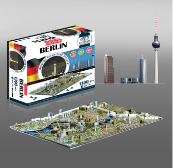 4d Cityscape Time Puzzle Lots Of Cities Available Neat Present For A Puzzle Lover Berlin Cityscape City