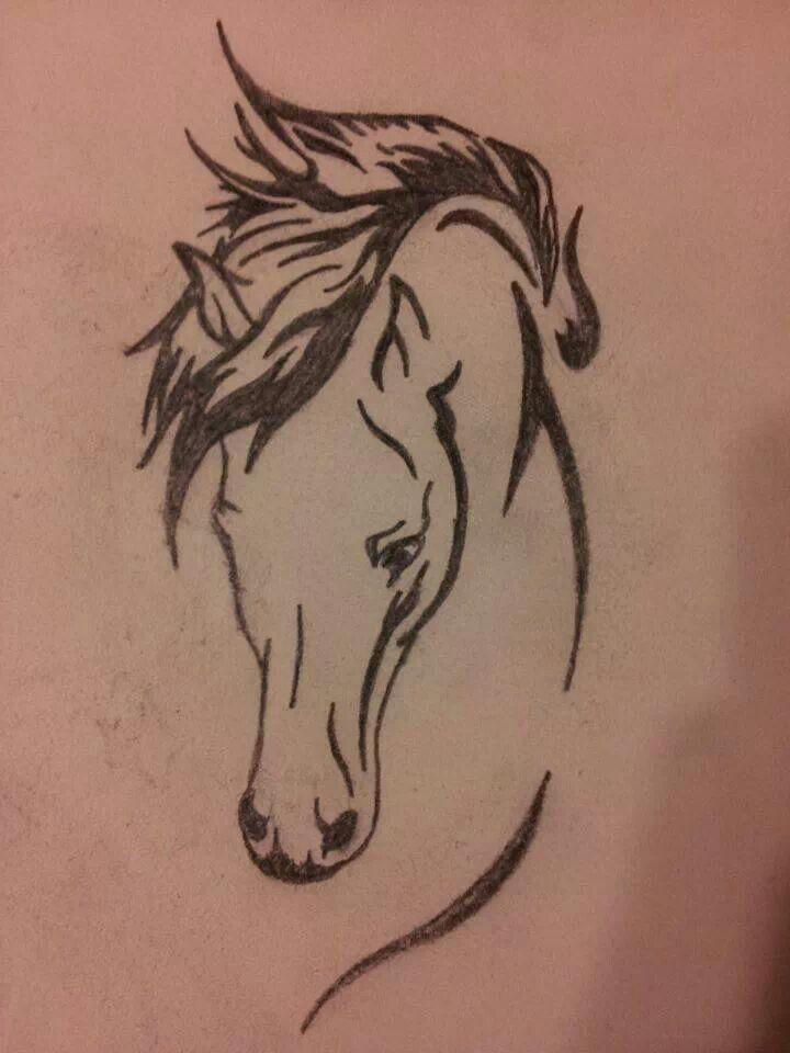 horse stencil tattoo ideas pinterest pferde malen pferde und brandmalerei. Black Bedroom Furniture Sets. Home Design Ideas