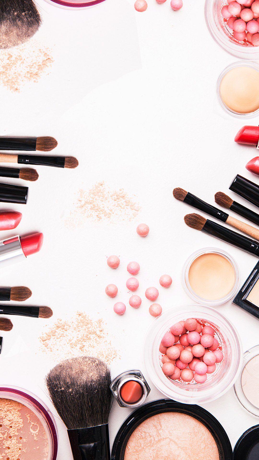 Pin de Zeerose5 em Wallpapers  Makeup wallpapers, Makeup illustration e Makeup backgrounds