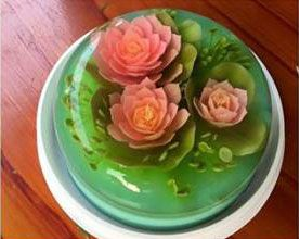 3d Edible Seaweed Jelly Art Cakes By Ms Aki Cakesbyvalval Edible Seaweed Edible Food 3d Jelly Cake