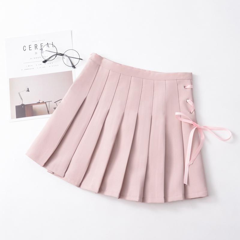 0d4d122c68 Korean school pleated ribbon skirt SD00334 – SYNDROME - Cute Kawaii  Harajuku Street Fashion Store