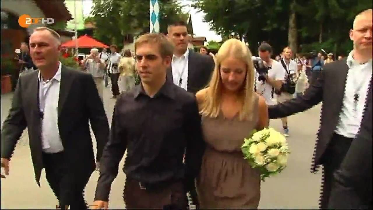 Philipp Lahm S Hochzeit Dfb Spieler Heiratet Hd Dfb And All