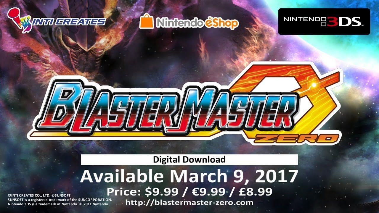 blaster master zero official trailer nintendo 3ds
