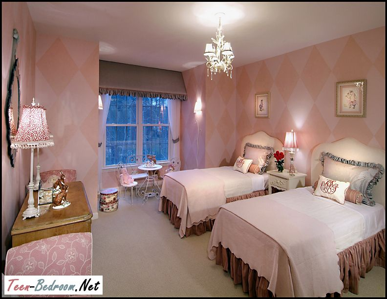 bedroom for teen sisters 1 from teen bedroom please visit - Luxury Teen Bedroom