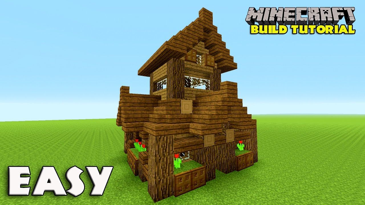 Minecraft: How To Build A Small Survival House