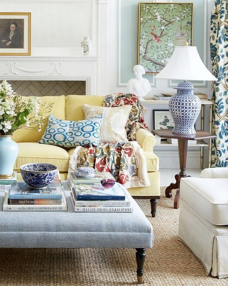 135 Heavenly Living Room Design Ideas In Eclectic Style