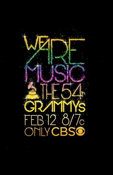 2012 Grammy's