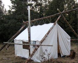 External Pole Frame Tent Wall Tent Camps Pinterest