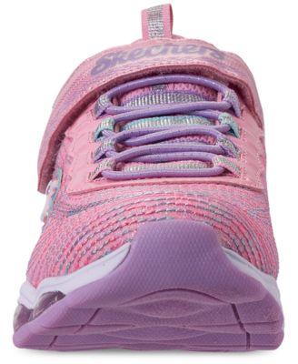 Little Girls' S Lights: Glimmer Lights Slip On Training Sneakers from Finish Line