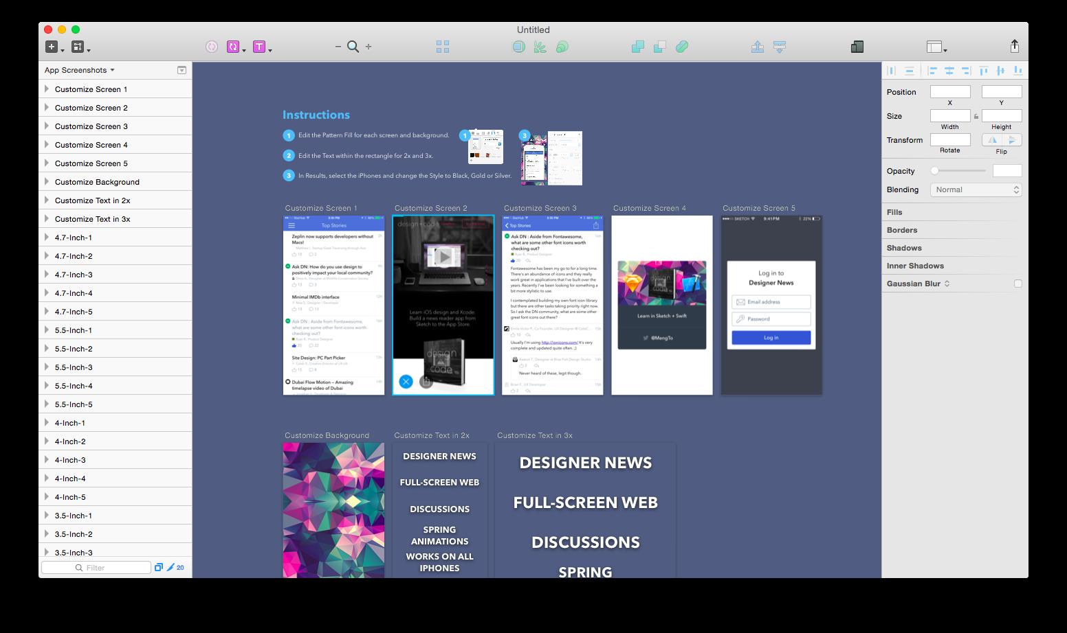 Organising Sketch 3 For Ios Sketch App Organization Design
