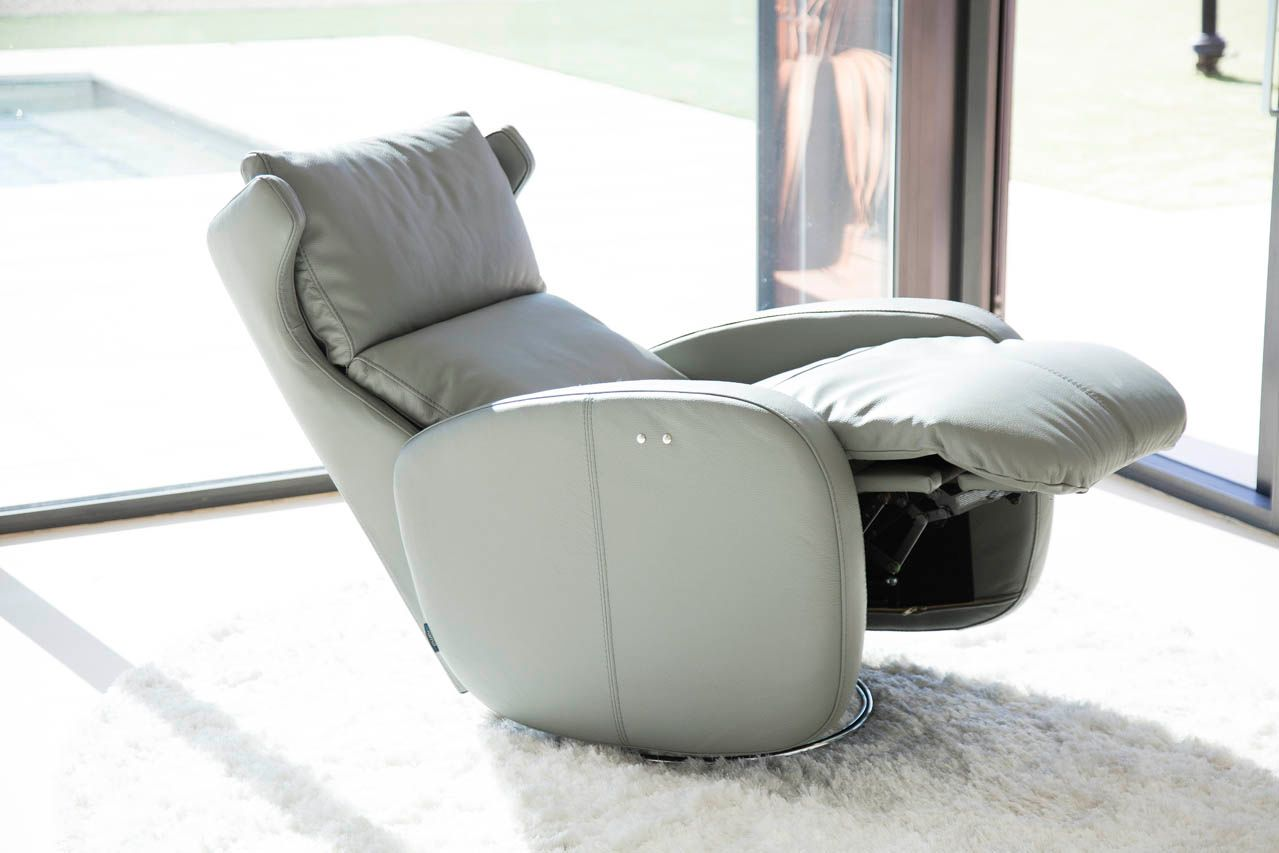 The Kim Recliner Armchair From Fama Available In Hundreds Of Fabrics And Leather Front Room Reclining Armchair Recliner Chair