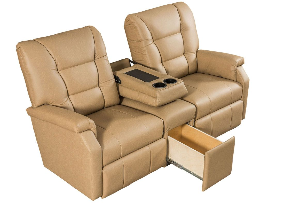 Amish Power Recliners   Amish Furniture Madison    LCC_Superior_TheaterSeat_Detail