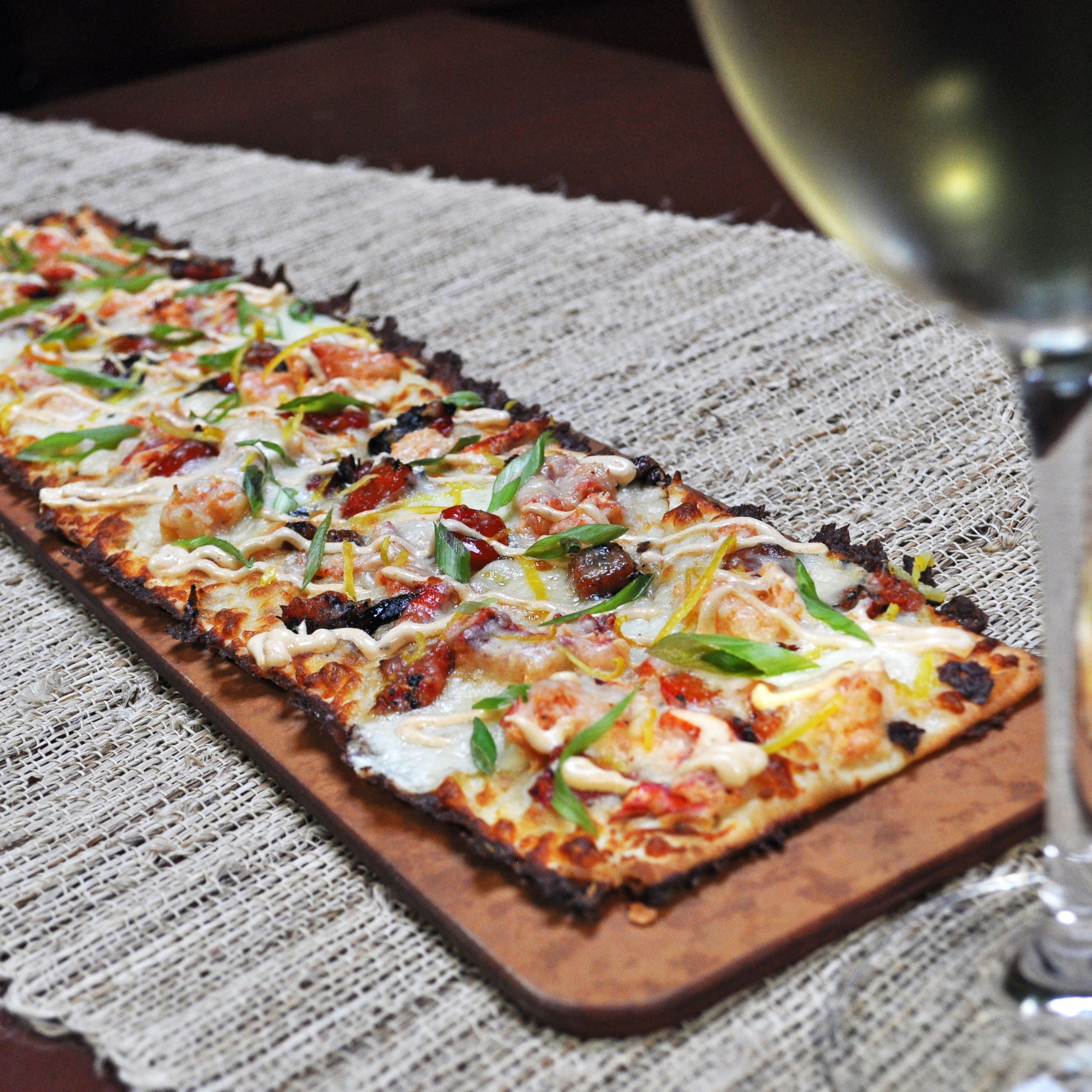 Our brickoven flatbreads make the perfect canvas for