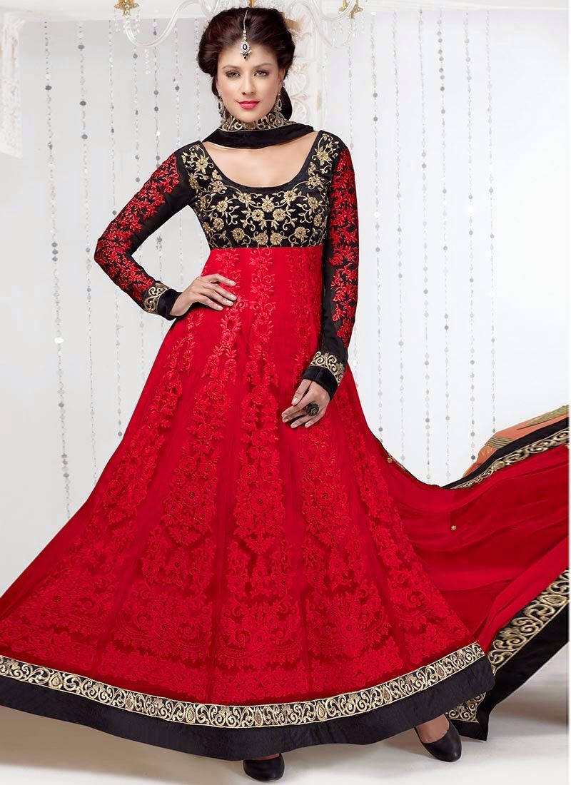 2924088806c Dress with k combination of red