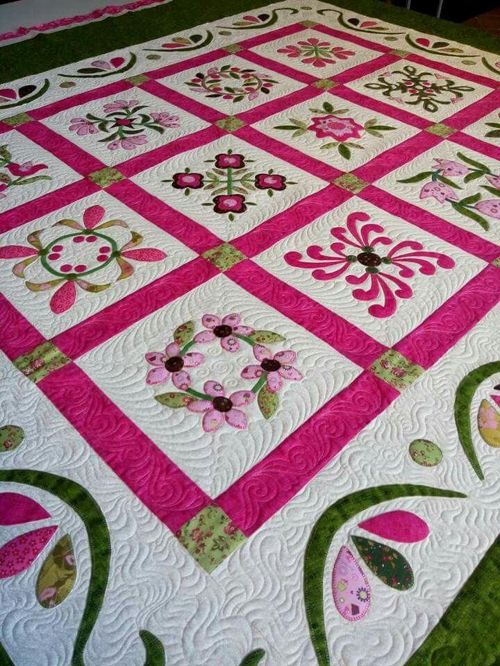 Pin de rii en quilt patrones de colchas colchas y - Patrones colcha patchwork ...