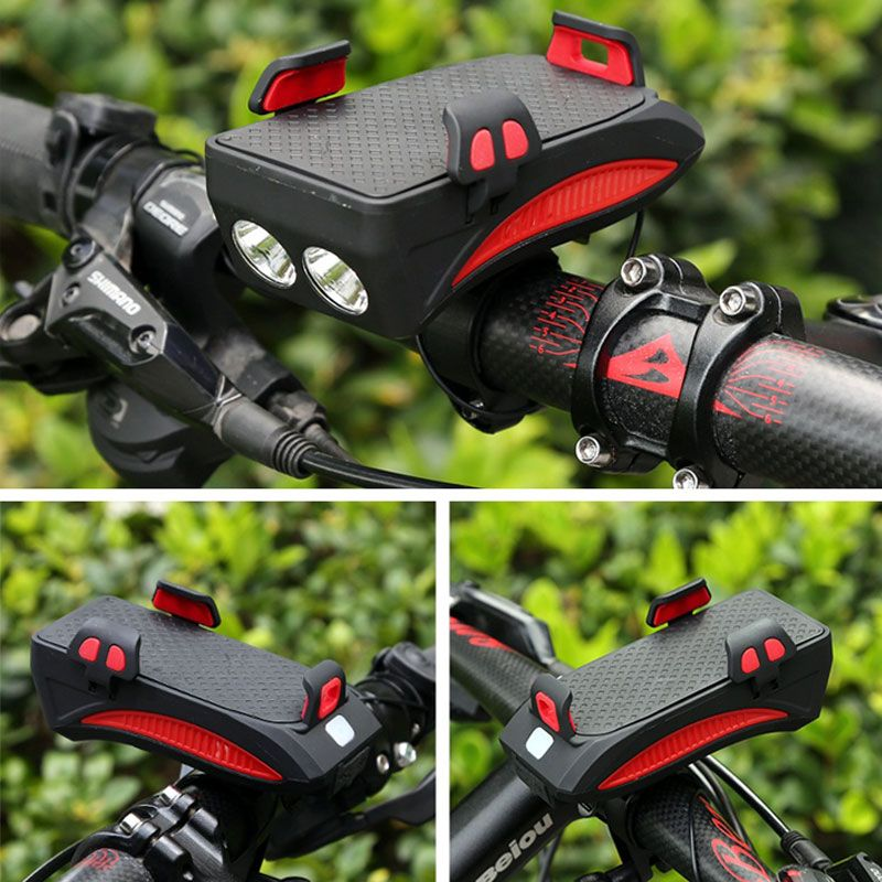 Multi Functional Front Bicycle Lamp Usb Bike Light Built In 2000