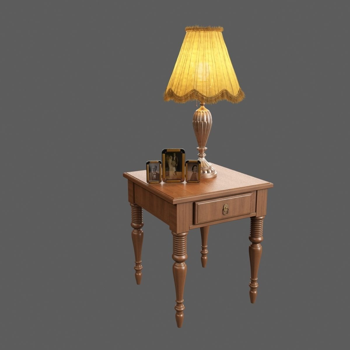 Old Lamp 3d Model Old Lamps Architecture Model Lamp