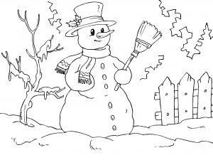 Muneco De Nieve Para Colorear Dibujos De Navidad Para Imprimir Paginas Para Colorear De Navidad Paginas Para Colorear Para Ninos