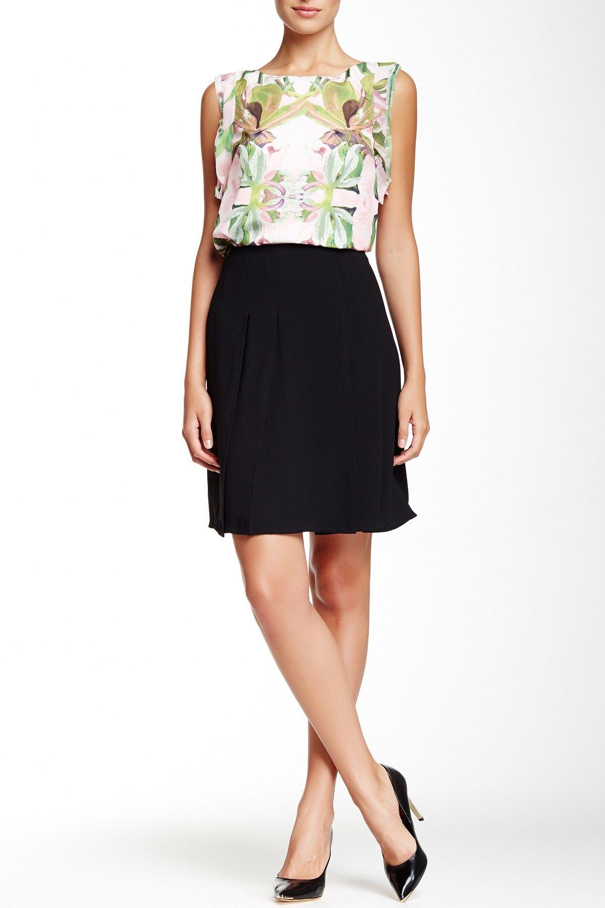 Rheia Overlapping Panel Skirt