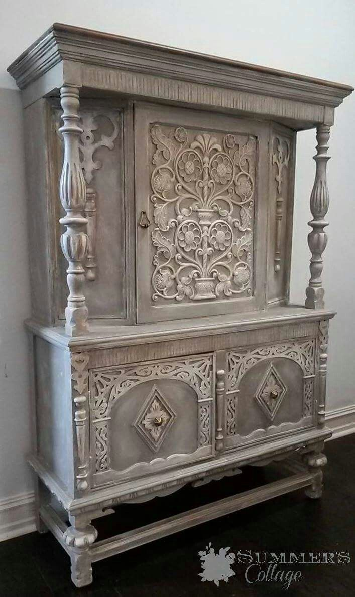 big pieces shabby talla en madera 2017 muebles On muebles industriales blancos