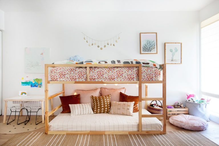 Earthy Boho Girls Room - Project Nursery